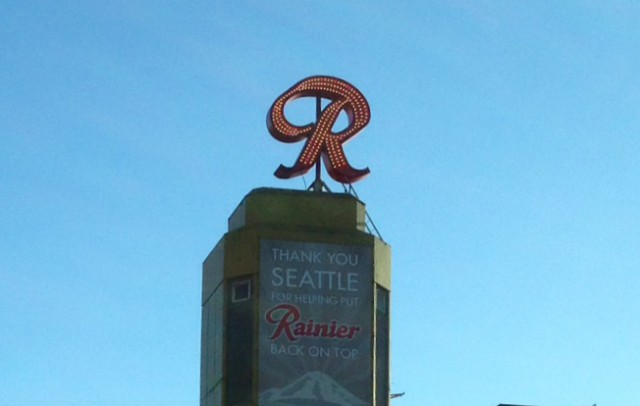Rainier Sign 2014