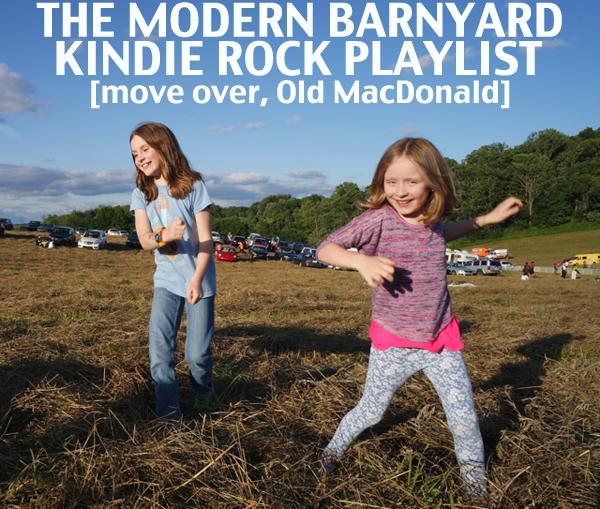 Modern farm and barnyard kindie rock songs for kids