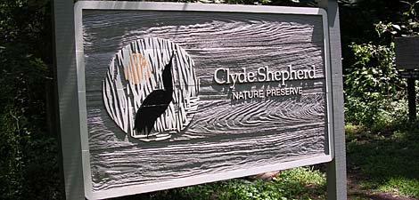 8) Clyde Shepard Nature Preserve