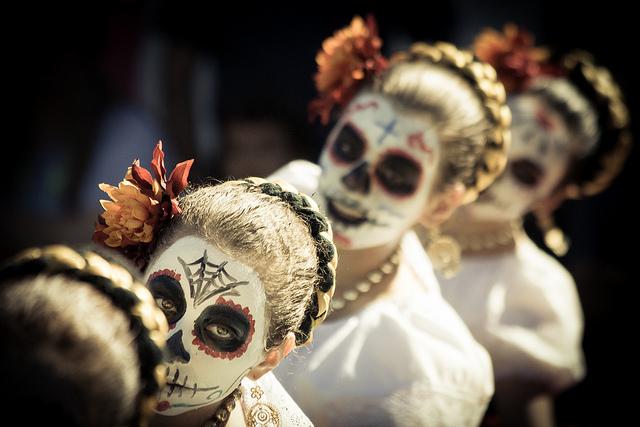 day of the dead ballet folklorico san jose calvary cemetery