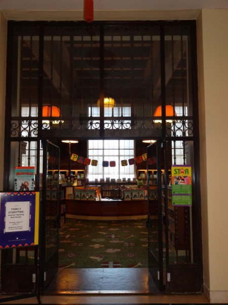 Entrance to Children Section Los Angeles Central Library
