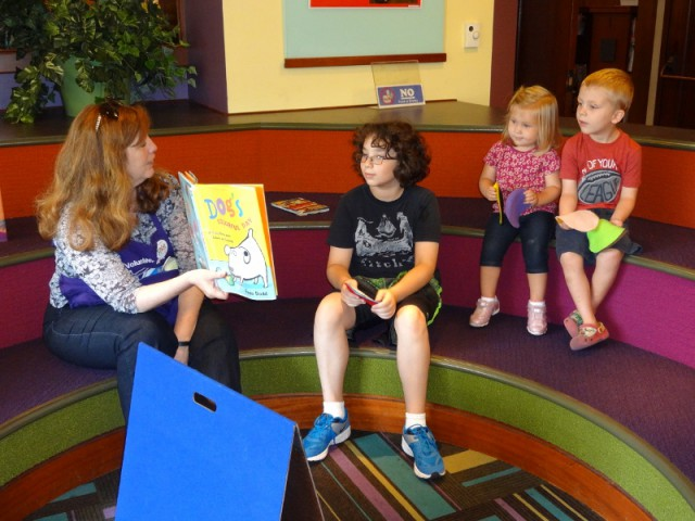 Story Time Los Angeles Public Library