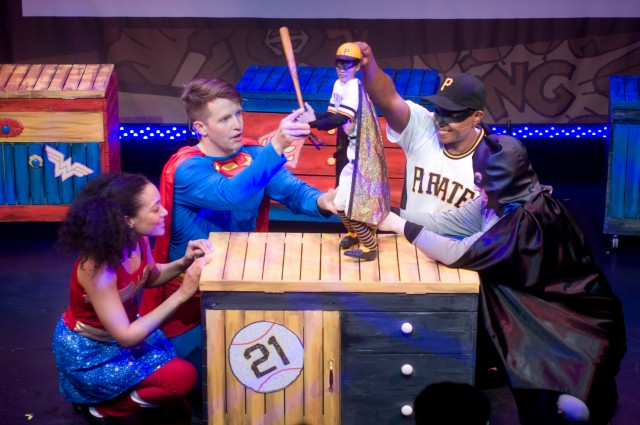 My Superhero Roberto Clemente Celebrating Puerto Rican Heritage, comes the bilingual musical for children MY SUPERHERO, ROBERTO CLEMENTE. This story is sure to delight all audiences through the journey of four kids, who together discover the powers of this Superhero. WHEN: November 8, 15 @ 3pm at Teatro SEA RESERVATIONS: 212.529.1545 For more information about Teatro SEA visit www.teatrosea.org
