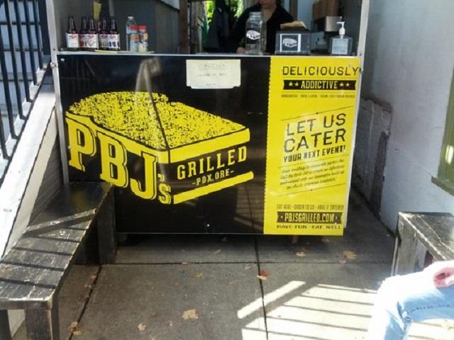 PBJs Grilled