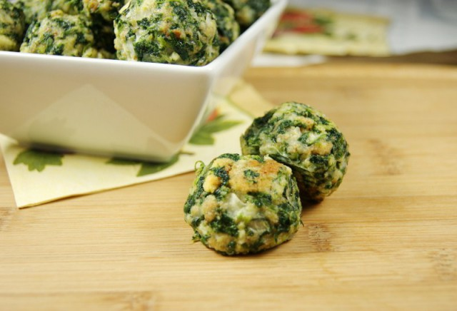 Spinach Balls 3
