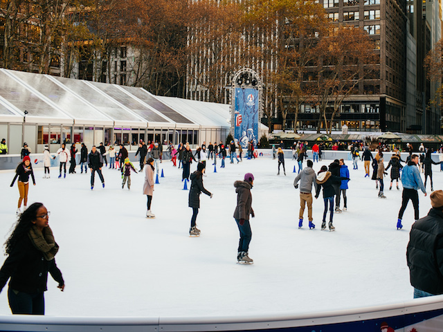 For A Skate with Your Shopping: The Bryant Park Holiday Shops