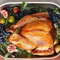 prepared thanksgiving dinner