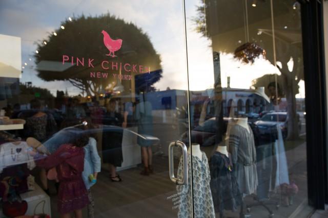 Pink Chicken Store Front