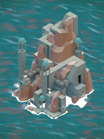 The-Descent-Level-from-Monument-Valley-by-ustwo-on-iPad-768x1024
