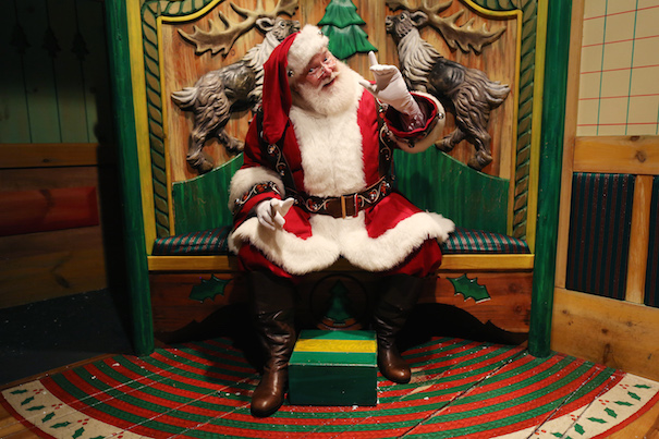 For the Classic Santa: Macy's