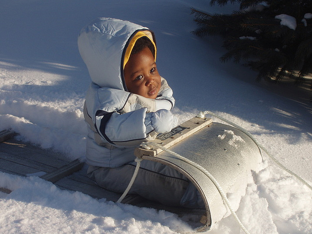 baby-sled-snow