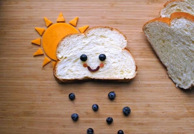 cloud bread food art
