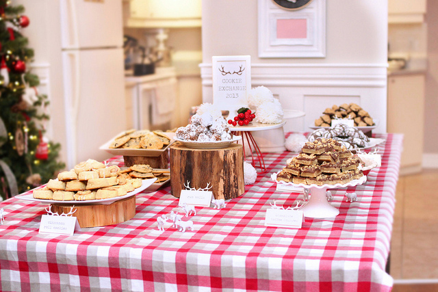 cookie exchange table mom2sofia on flickr