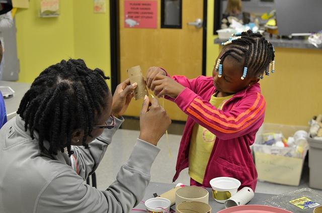 Crafts at Imagine Children's Mueum