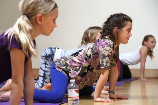 November Kids Yoga Series w/Honey Heart