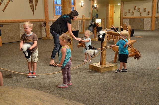 Horses at Imagine Children's camp