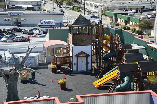Imagine Children's Museum rooftop