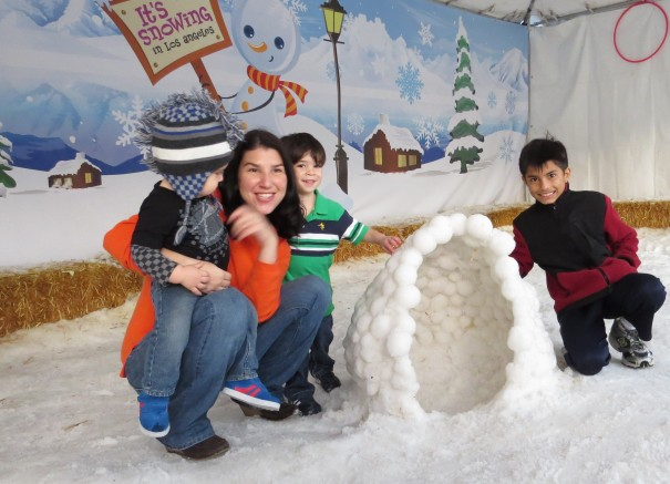 Break out your mittens, boots, and snow hat for a day of winter wonderland fun! Play in real snow, make snow angels and snowmen, and perfect your snowball making skills. Check out live performances each day and discover the science of snow.