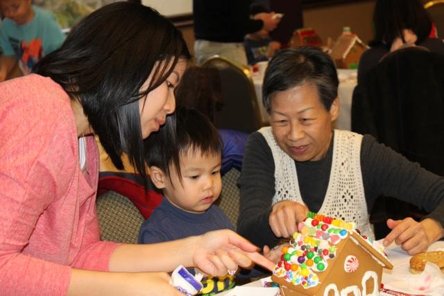 KidsQuest gingerbread workshop 1