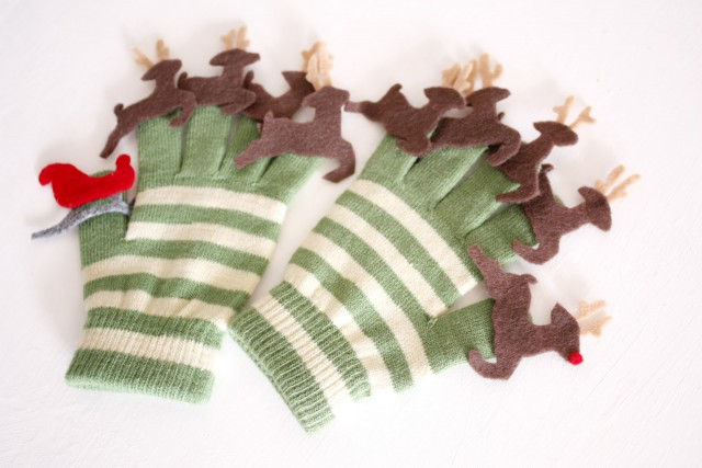 Reindeer Gloves craft