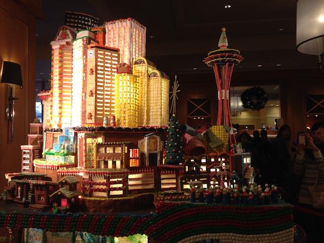 Sheraton gingerbread exhibit Allison's pic