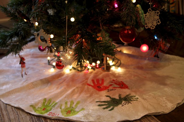 tree skirt craft