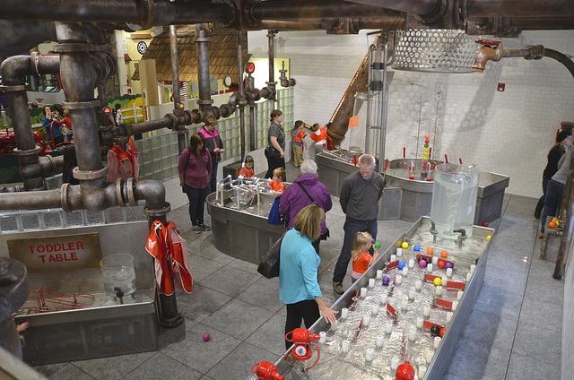 Water Table at Imagine museum