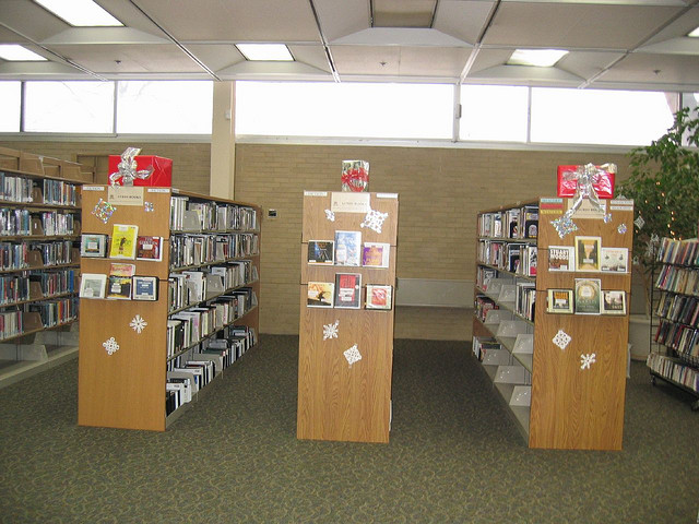 audiobook at library