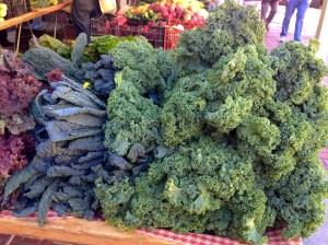 Kale farmer market