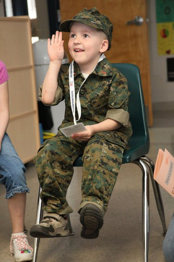 Camp Desert Kids help families understand deployments
