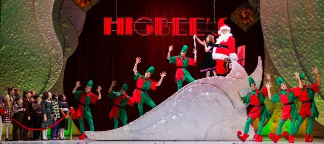 Santa and elves at Higbees
