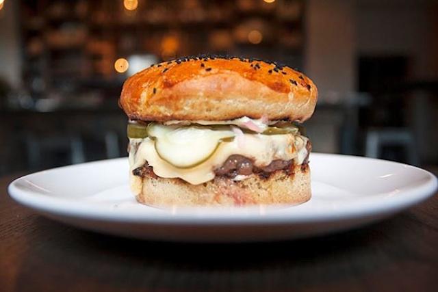 white oak burger