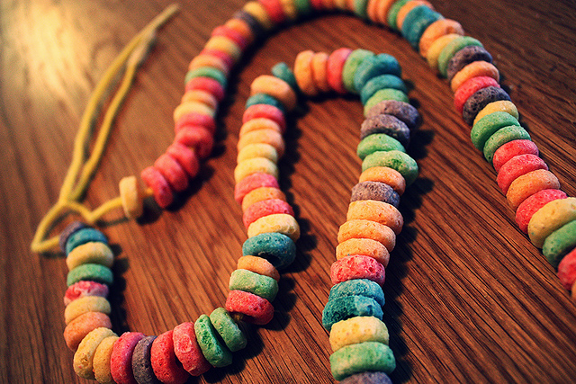 fruitloop necklace