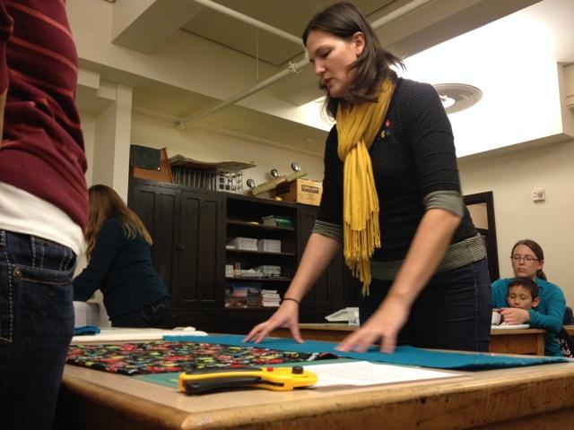 AWS Farm School sewing shot
