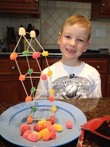 Chris Wellner gumdrop structure
