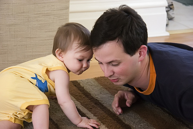 crawlingbaby_jillmflickr_getactivewithbaby_bump+baby_redtricycle