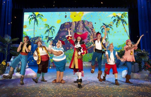 disney live princess and pirates