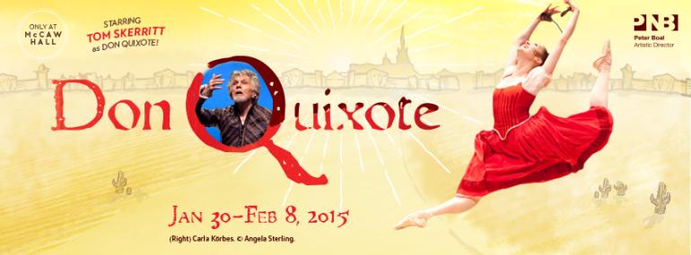 Pacific Northwest Ballet presents Don Quixote