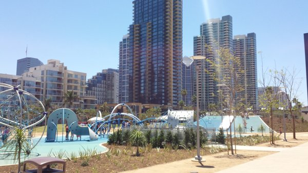 Downtown SD Waterfront Park