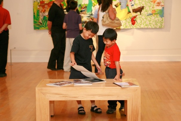 kidsinmuseum_dianewallace_ASUartmuseum_flickr_newyearsresolutions_national_redtricycle