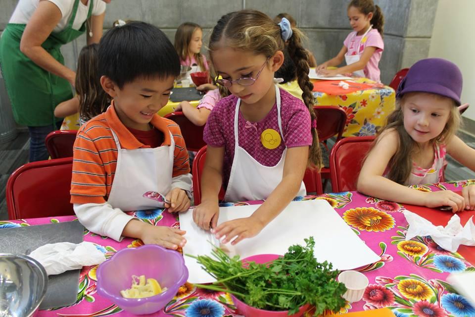 New Children's Museum Cooking Class
