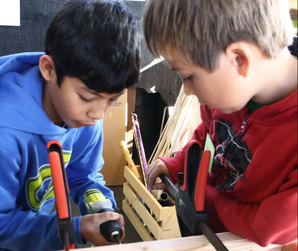 Tinkering Studio at reDiscover Center