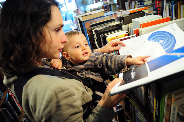 baby-at-bookstore-library