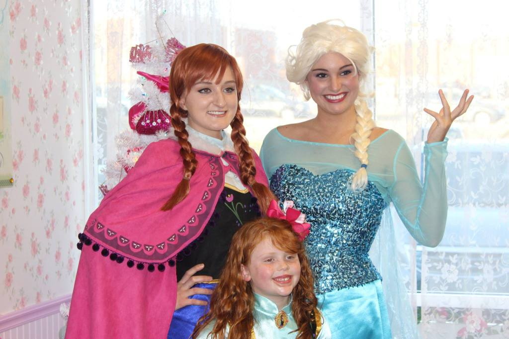 The FROZEN sisters, Anna & Elsa, will visit Olivia's Dollhouse Tea Room for a Valentine's Day Tea event. Dress up, story time, formal tea party and photo opps are included in this 90 minute event. RSVP required. No drop-ins allowed.