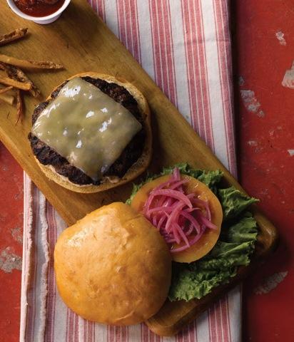 Burger from Pomegranite Bistro FB