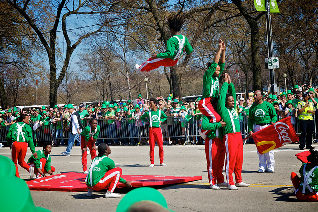 Downtown Chicago St. Pat