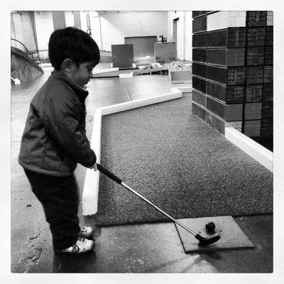 minigolf-kid