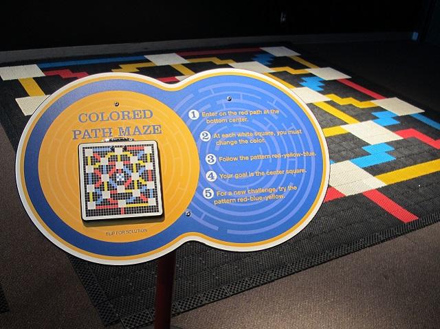 OMSI colored path maze