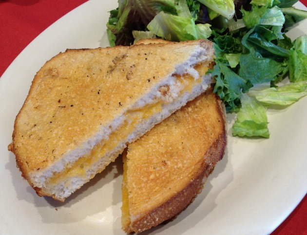 boudin grilled cheese