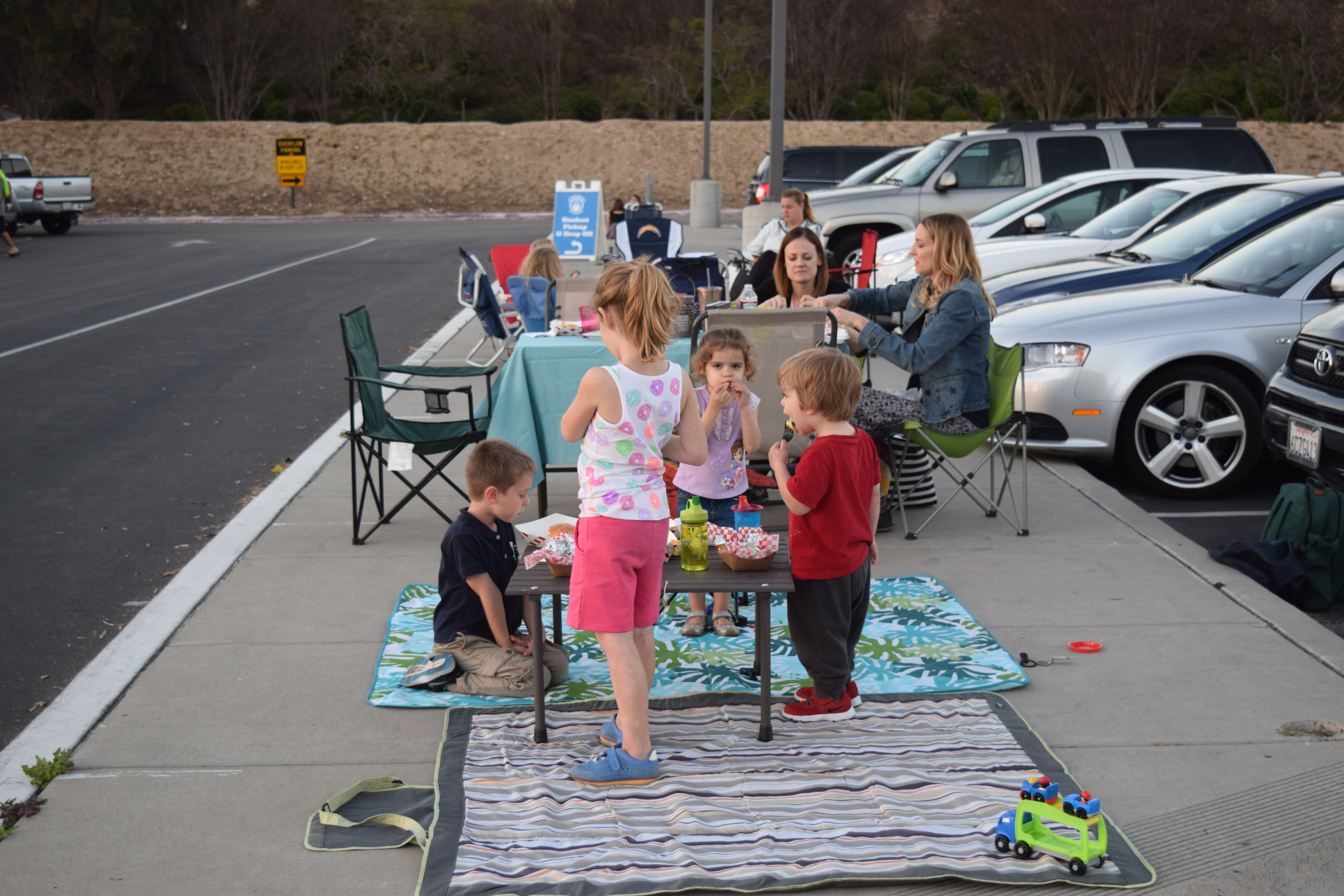Family Picnic at Food Truck Thursdays at Innovations Academy in Scripps Ranch